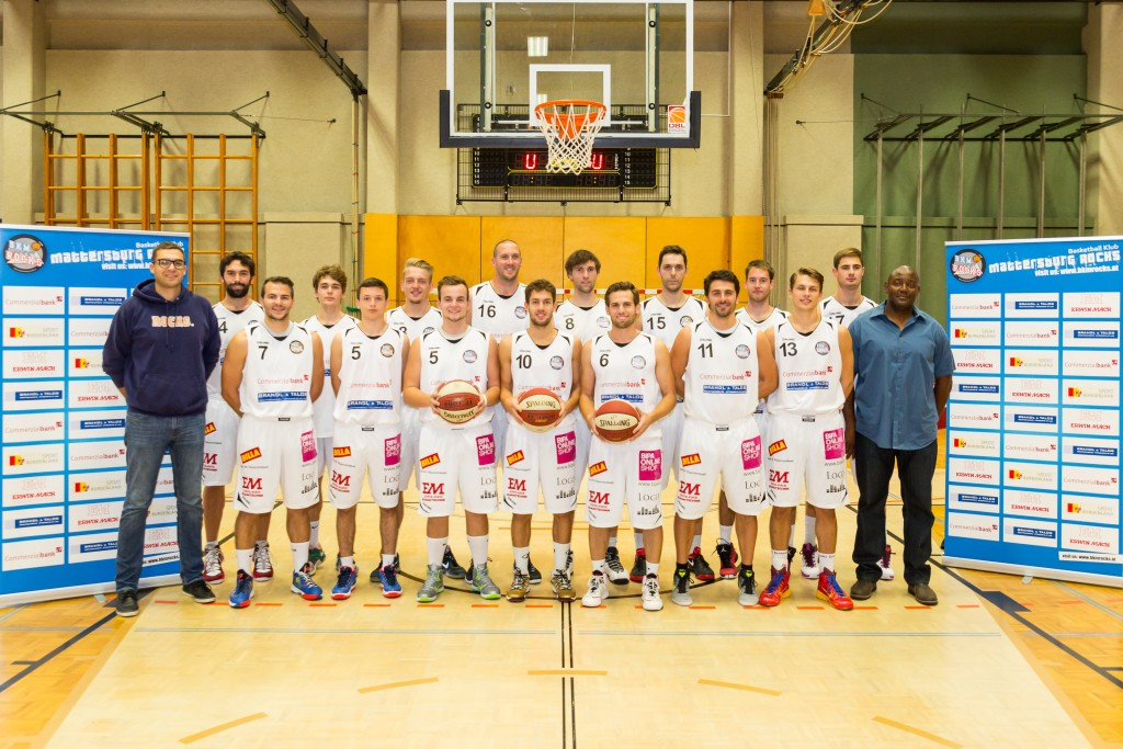 19.09.2015 Basketball 2.Bundesliga BK Mattersburg Rocks - Mannschaftsportrait Bild zeigt: BK Mattersburg Rocks Copyright Pictorial / M.Proell office@pictorial.at www.basketball.pictorial.at