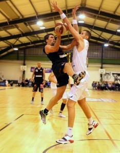 Basketball ABL 2013/14 Grunddurchgang 9.Runde D.C. Timberwolves vs. Mattersburg Rocks