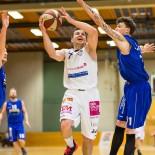 03.04.2016 Basketball 2.Bundesliga Playoffs HF1 BKM Rocks vs. Radenthein Garnets  Bild zeigt: Hannes ARTNER (7) Daniel GABERLE(11)   Copyright Pictorial / M.Proell  office@pictorial.at www.basketball.pictorial.at