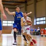 03.04.2016 Basketball 2.Bundesliga Playoffs HF1 BKM Rocks vs. Radenthein Garnets  Bild zeigt: Jan NICOLI (10) Daniel GABERLE(11)   Copyright Pictorial / M.Proell  office@pictorial.at www.basketball.pictorial.at