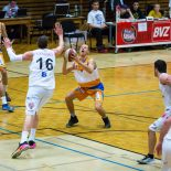 27.11.2016 Basketball 2.Bundesliga Grunddurchgang 8.Runde Mattersburg Rocks vs. BBU Salzburg Im Bild: Vilius Sermokas (9)   Copyright: Pictorial / M.Proell  office@pictorial.at www.pictorial.at