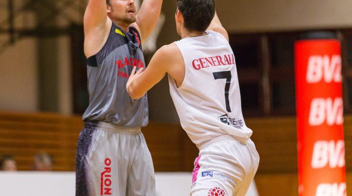 11.12.2016 Basketball 2.Bundesliga Grunddurchgang 10.Runde Mattersburg Rocks vs. Villach RaidersIm Bild: Sebastian Huber (6) Copyright: Pictorial / M.Proell<a href=