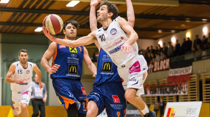20.01.2017 Basketball ABL 2016/17 CUP 2.Runde Mattersburg Rocks vs. Fürstenfeld Panthers Im Bild: Jan NICOLI (10)   Copyright: Pictorial / M.Proell  office@pictorial.at www.pictorial.at