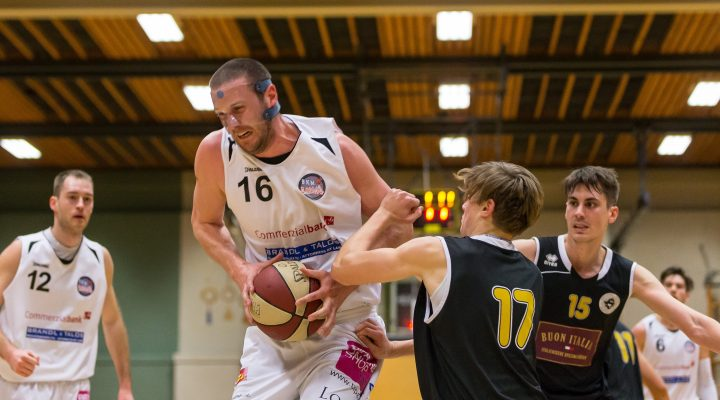 18.02.2017 Basketball 2.Bundesliga Grunddurchgang 17.Runde Mattersburg Rocks vs. Wörthersee Piraten Im Bild: Corey HALLETT (16)   Copyright: Pictorial / M.Proell  office@pictorial.at www.pictorial.at