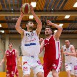 29.04.2017 Basketball 2.Bundesliga Playoff Semifinale Spiel 2 Mattersburg Rocks vs. UBC St.Pölten Im Bild: Ramiz Suljanovic (15)   Copyright: Pictorial / M.Proell  office@pictorial.at www.pictorial.at