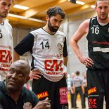 01.05.2017 Basketball 2.Bundesliga Playoff Semifinale Spiel 3 UBC St.Pölten vs. Mattersburg Rocks Im Bild: James WILLIAMS (Headcoach)   Copyright: Pictorial / M.Proell  office@pictorial.at www.pictorial.at