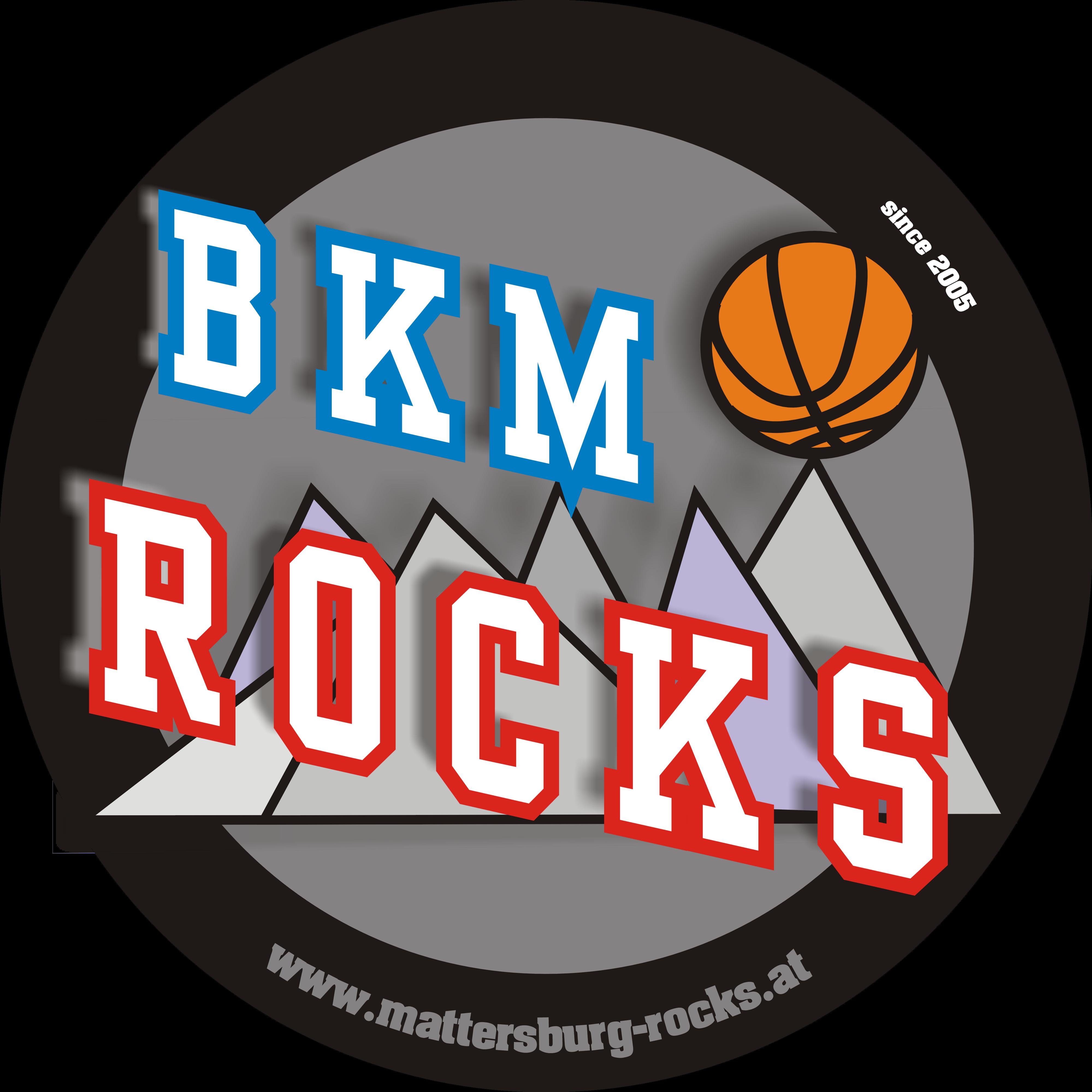 Logo des Basketball Klub Mattersburg Rocks
